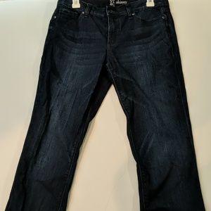 New York & Company Skinny jeans size 8